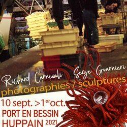 Exposition photographies et sculptures au Centre culturel de Port en Bessin